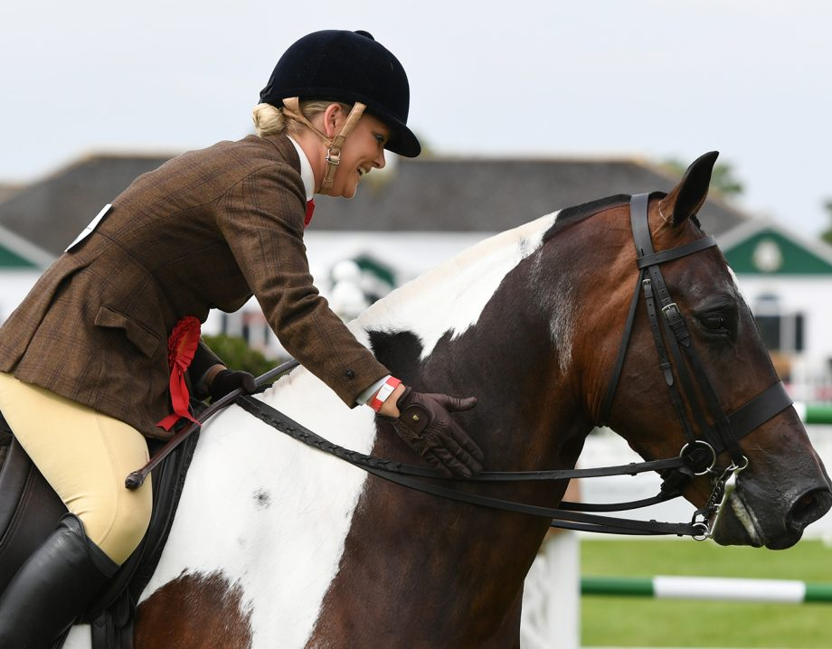 Red Rock III ridden by Vicky Hesford