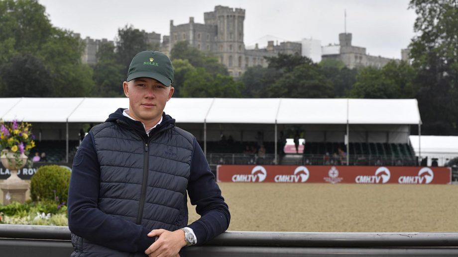 Harry Charles at Royal Windsor Horse Show