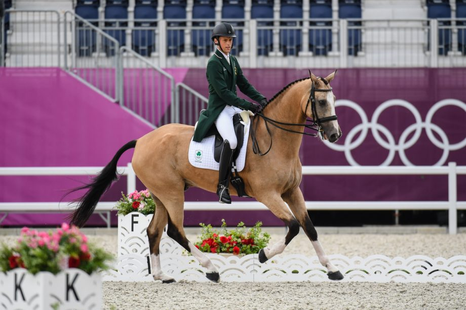 Olympic eventing dressage: Sam Watson and Flamenco