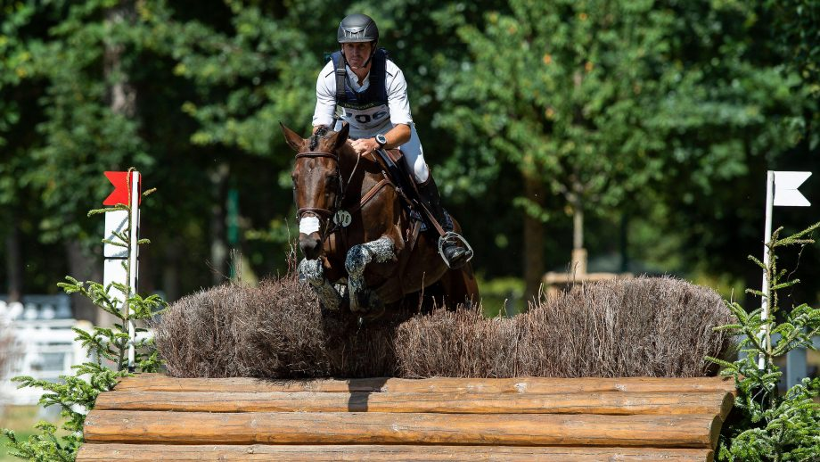 Tom Carlile and Birmane at Jardy 2020: the mare has been withdrawn from the Tokyo Olympics