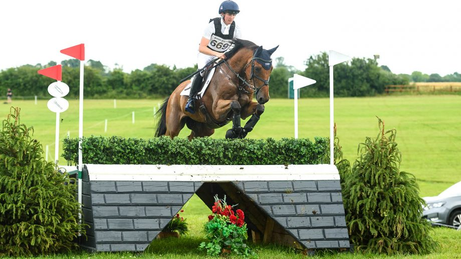 British Olympic eventing team final outing