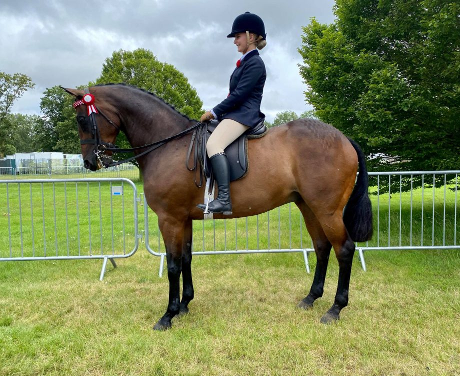 Parkgate Royal Visit William and Zara Brookes win the intermediate championship at the 2021 Royal Windsor Horse Show