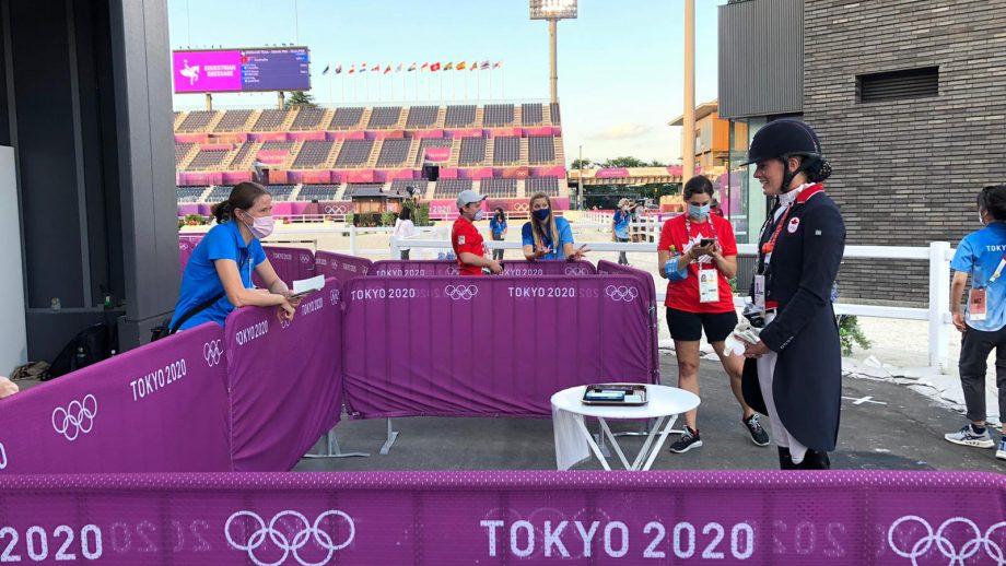 Tokyo Olympics mixed zone – Pippa Roome interviews Lindsay Kellock