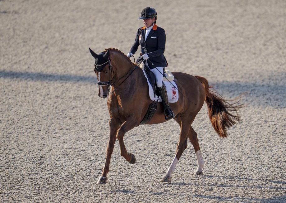Paralympics dressage: Sanne Voets and Demantur take the grade IV freestyle in Tokyo