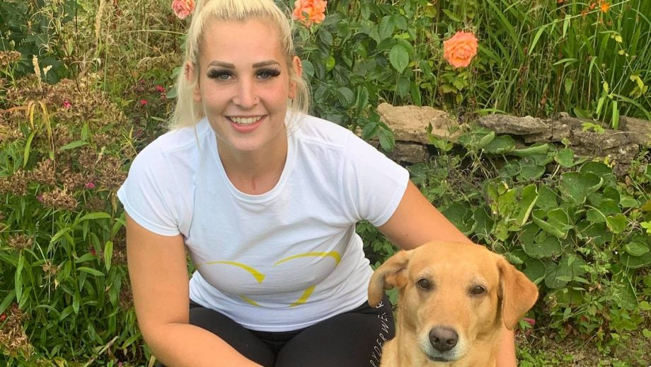 Daniella Jones took on a running challenge raising money for the NHS in support of her boss, Shaz Quigley