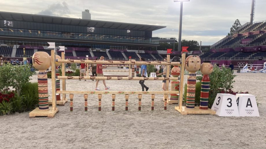 Olympic team showjumping