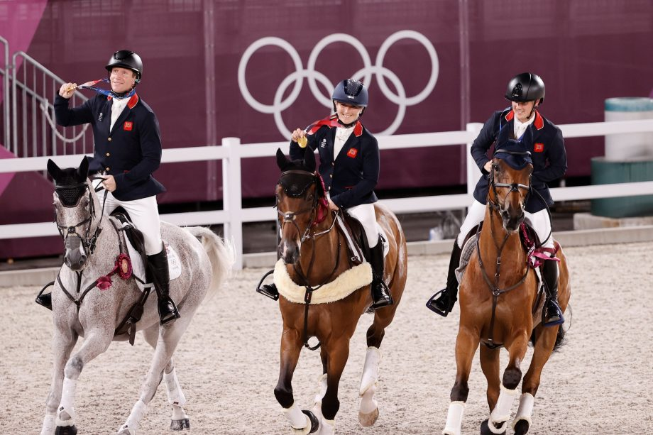 Olympic equestrian arena surface