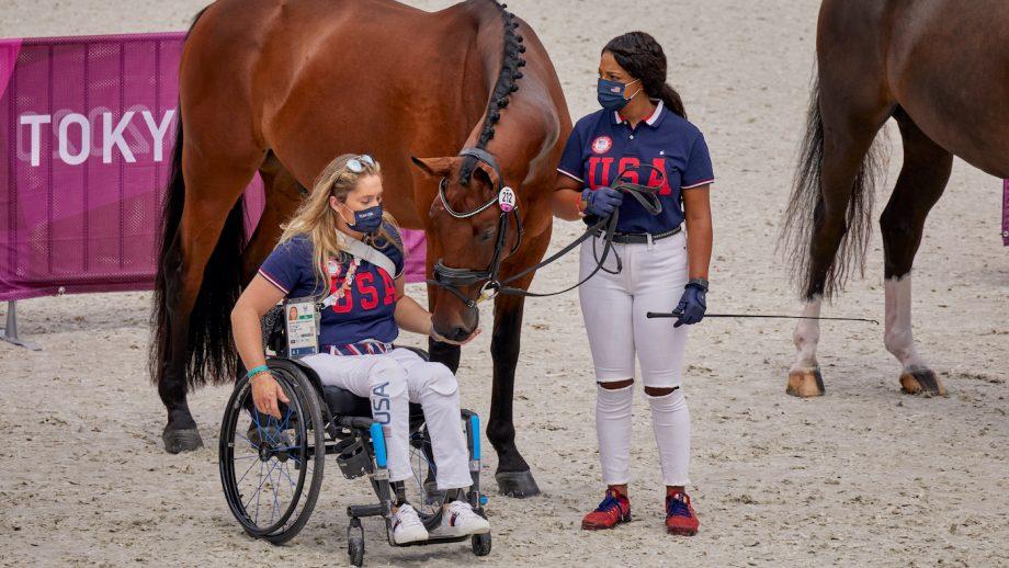 Tokyo Paralympic dressage Beatrice de Lavalette