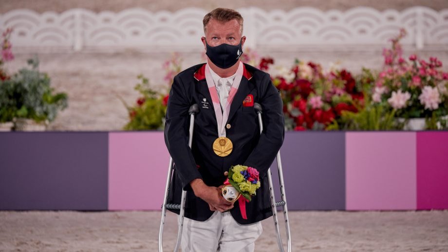 Tokyo Paralympics Lee Pearson
