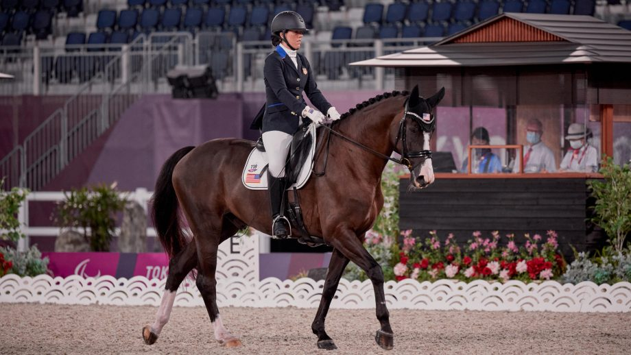 Paralympics dressage: Roxanne Trunnell and Dolton
