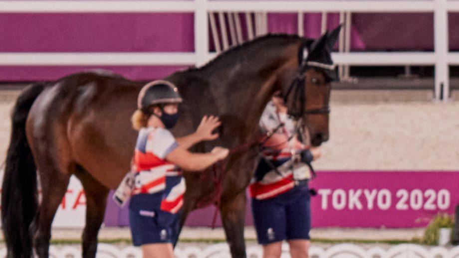 Tokyo Paralympics: British groom Liz Walsh
