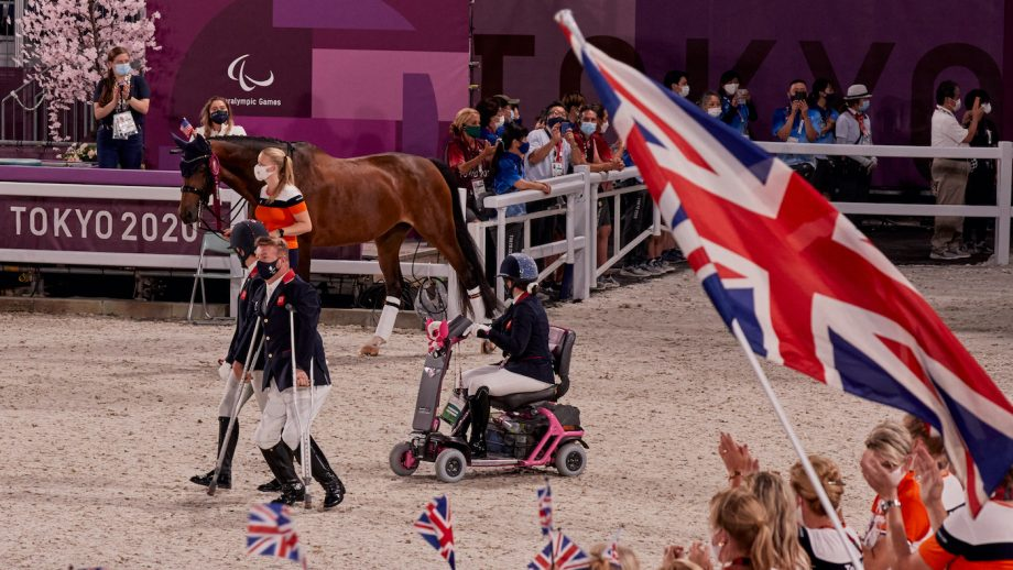 Tokyo Paralympic dressage freestyle start times