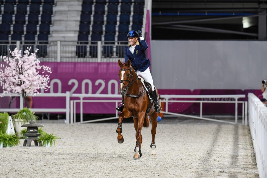 Olympic eventing showjumping Andrew Hoy ( AUS) riding Vassily De Lassos during the Individual Jumping Final for the Olympic Eventing Competition at the Tokyo 2020 Olympic Games held at Equestrian Park in Setagaya-ku in Tokyo in Japan between the 23rd July and 8th August 2021