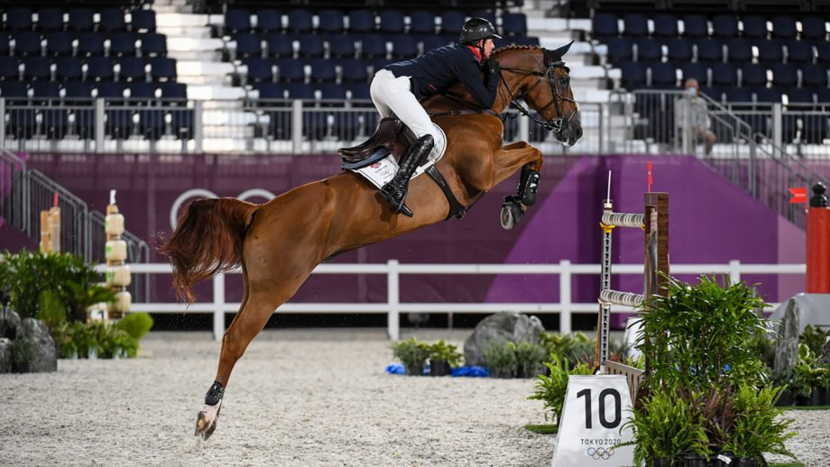 Ben Maher riding Explosion W to win gold in the Olympic showjumping individual final: Ben has also been planning his wedding while in Tokyo