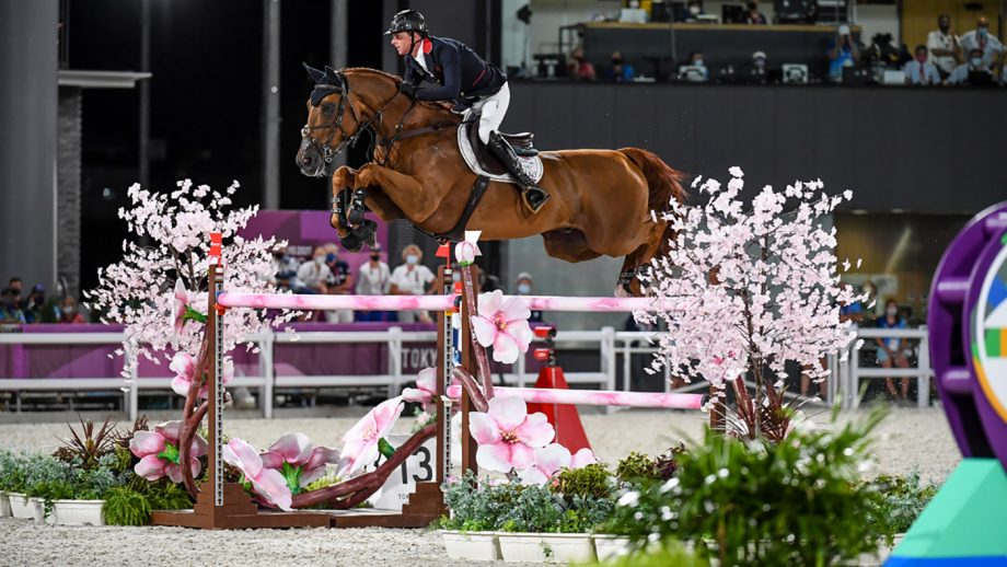 Ben Maher and Explosion W win individual Olympic showjumping gold in Tokyo.