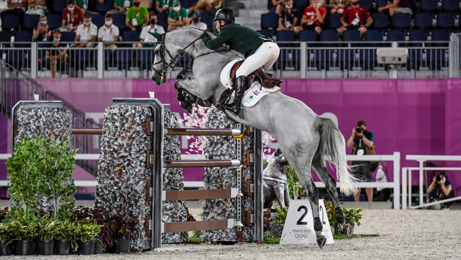 Cian O'Connor's Kilkenny suffered a nosebleed while contesting the Olympic showjumping individual final