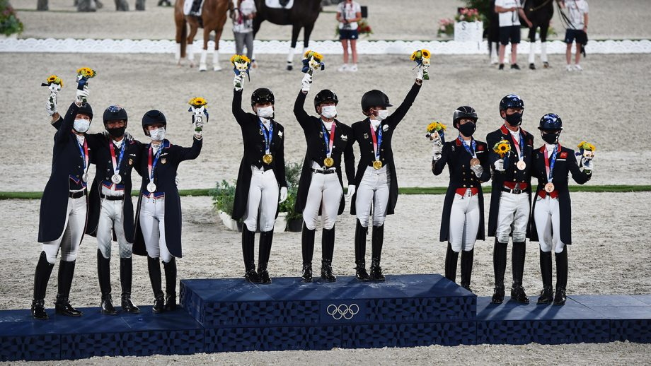 Germany, the USA and Great Britain on the podium at the Tokyo Olympics