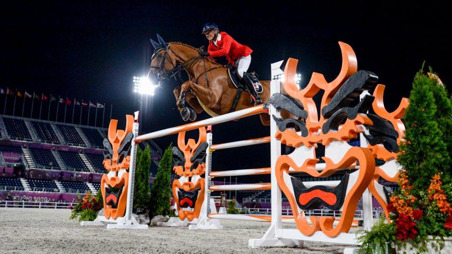 Daisuke Fukushima competes at the Tokyo Olympics