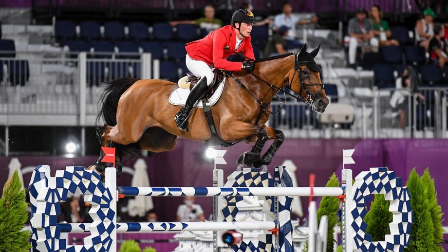 Olympic showjumping individual final: Daniel Deusser misses the jump off