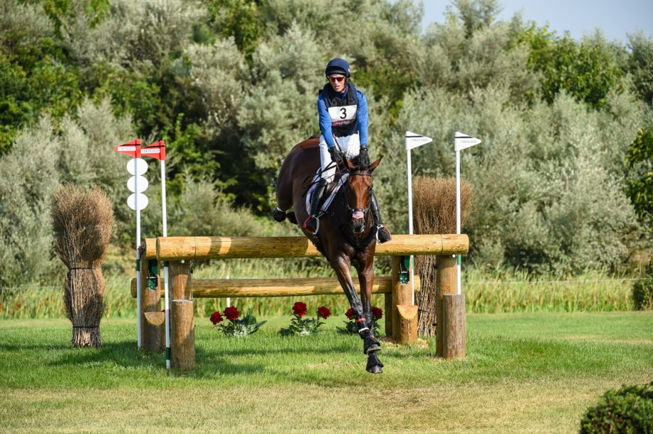 Olympic eventing cross-country: Doug Payne and Vandiver
