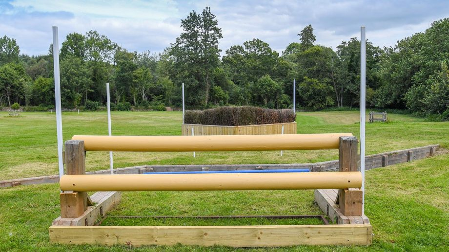 Bicton Horse Trials cross-country course for the five-star event in 2021