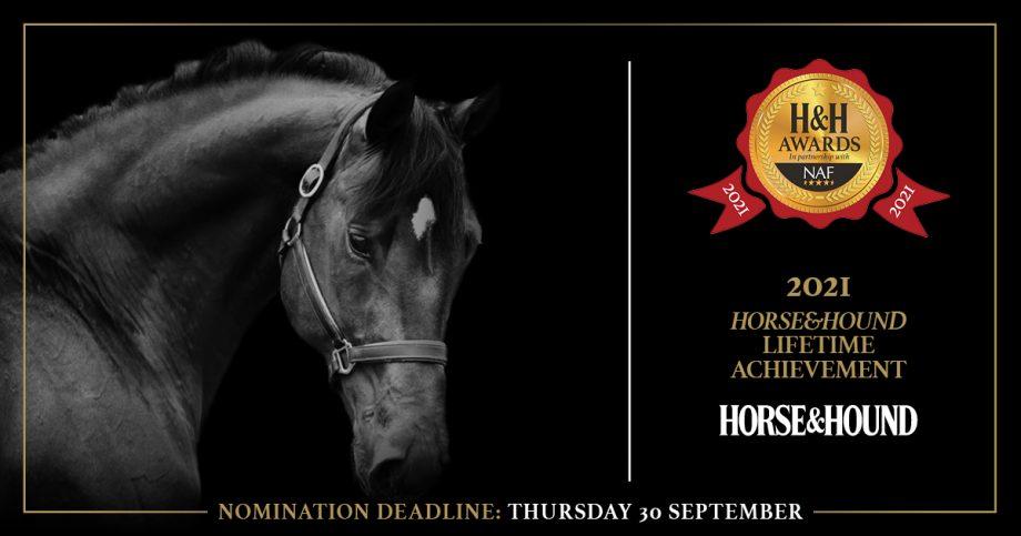 Horse & Hound Lifetime Achievement Award 2021