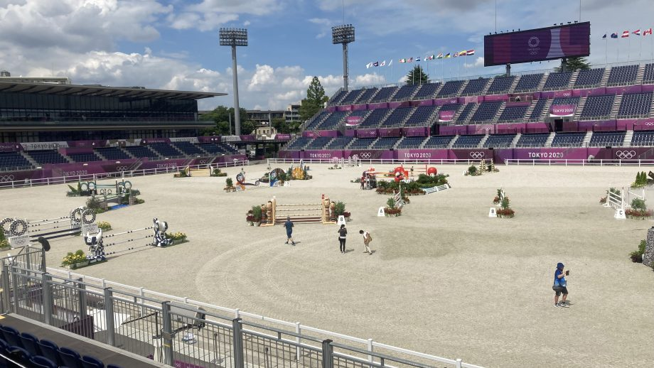 Olympic eventing showjumping times