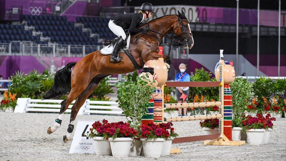 Olympic eventing individual gold