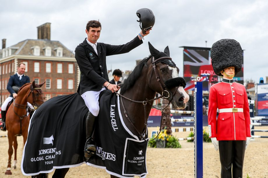 George Whitaker wins with Peanut at the London Global Champions Tour 2021