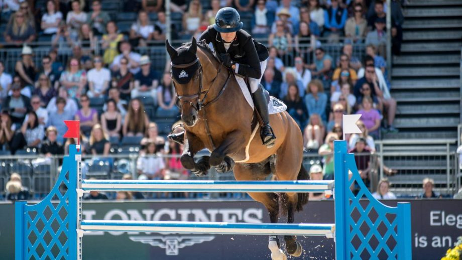 Tiffany Foster and Brighton jump to victory in the 1.45m 2* grand prix at the London Longines Global Champions Tour