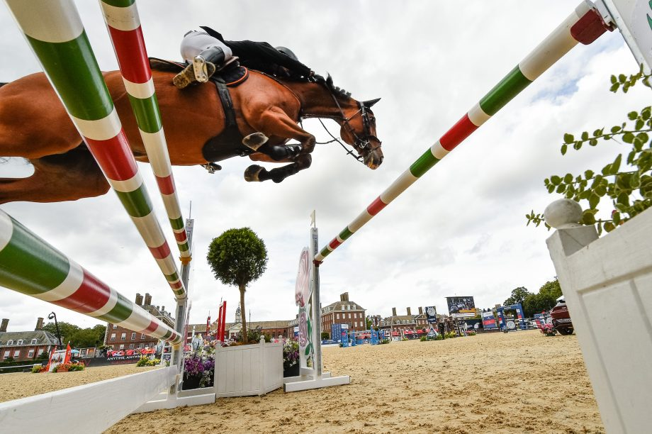 Andrzej Oplatek of Poland competing at the London GCT on Friday, 14 August