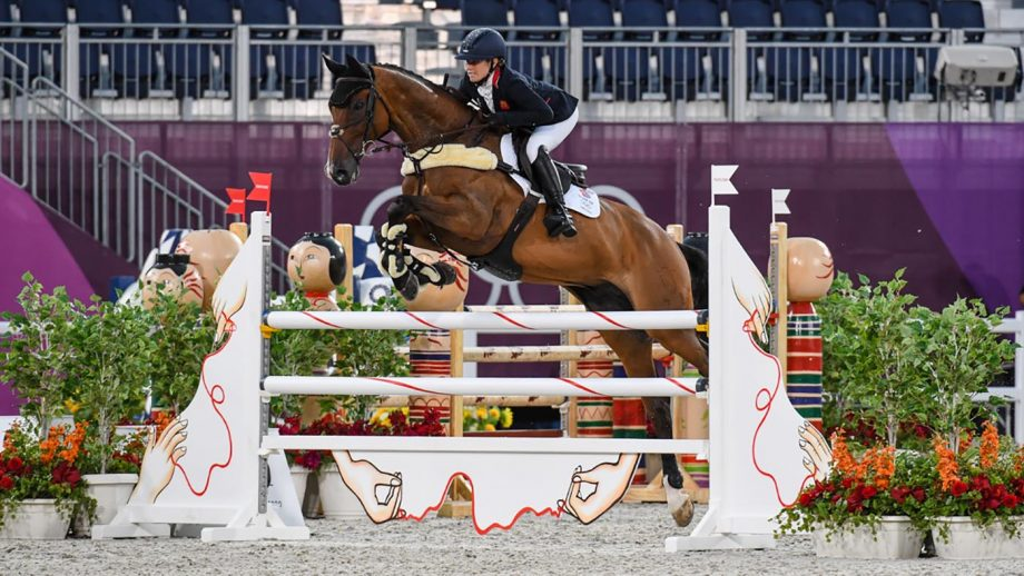 Olympic eventing showjumping Laura Collett