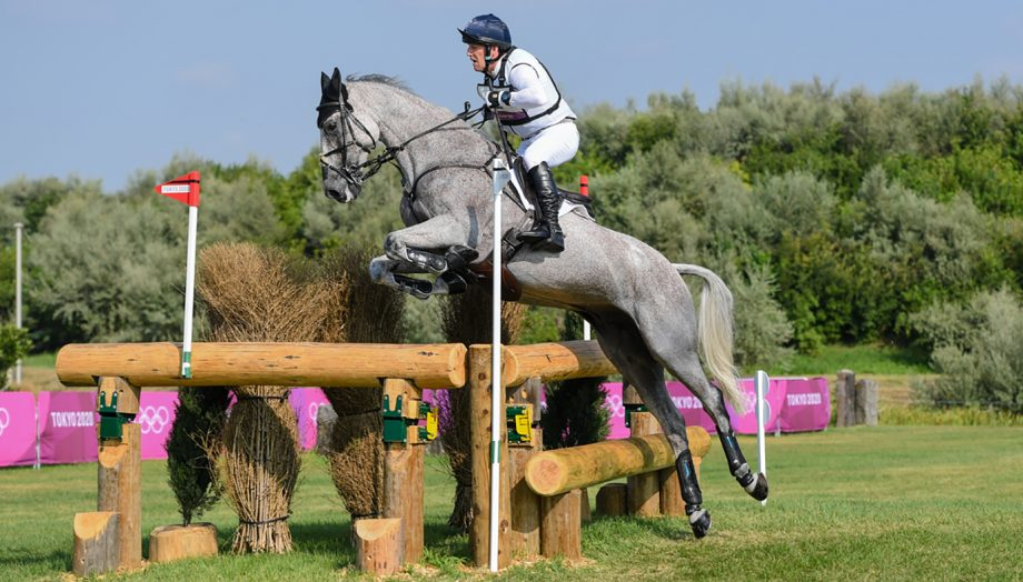 Oliver townend olympic eventing cross-country