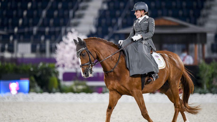 Tokyo Paralympics: side-saddle rider Barbara Minneci and Stuart