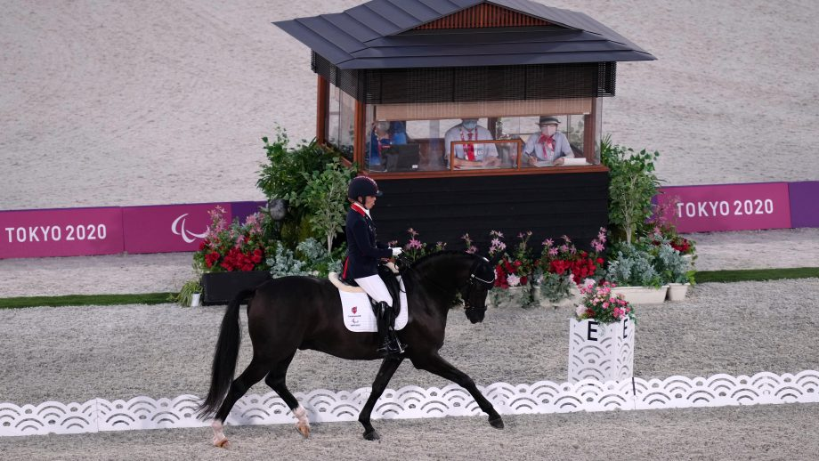 Paralympics dressage: Sophie Wells and Don Cara M contest the grade V freestyle in Tokyo