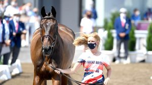 Ros Canter: Tokyo Olympics trot-up