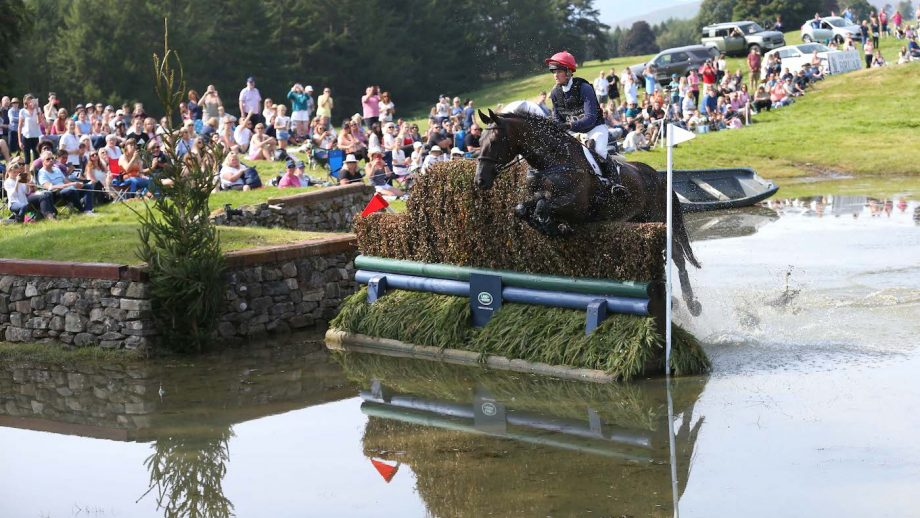 Blair Castle cross-country day: Rosie Fry and True Blue Too II in the CCI4*-L