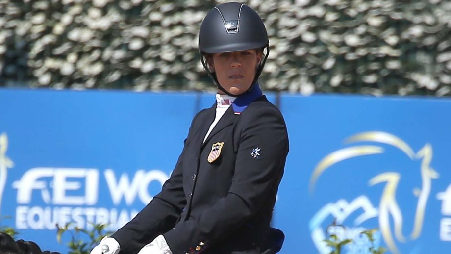 roxanne trunnell - paralympic dressage rider