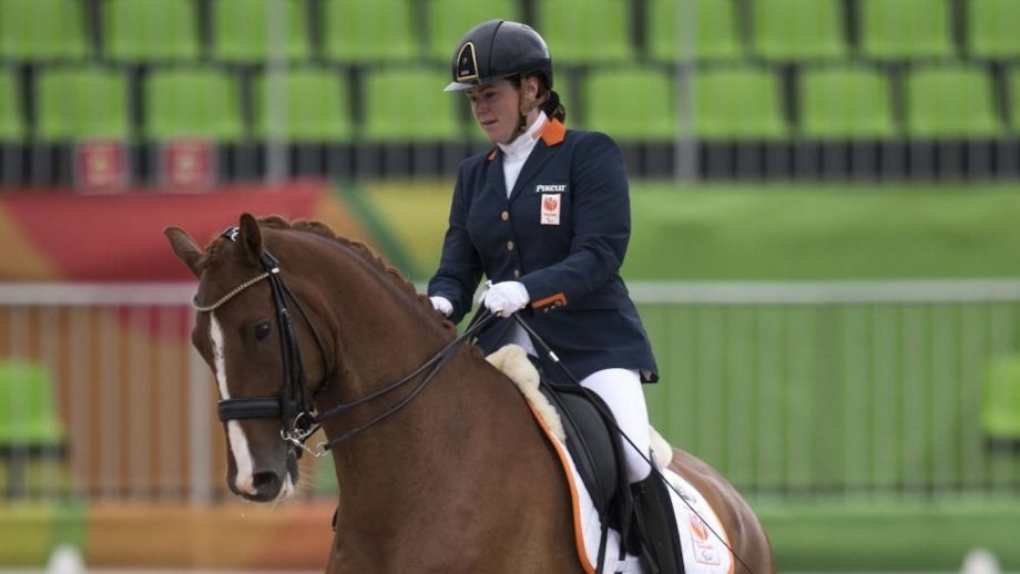 Dutch para dressage rider Sanne Voets approached Haevn at a gig and asked if they would work with her on a soundtrack for her freestyle