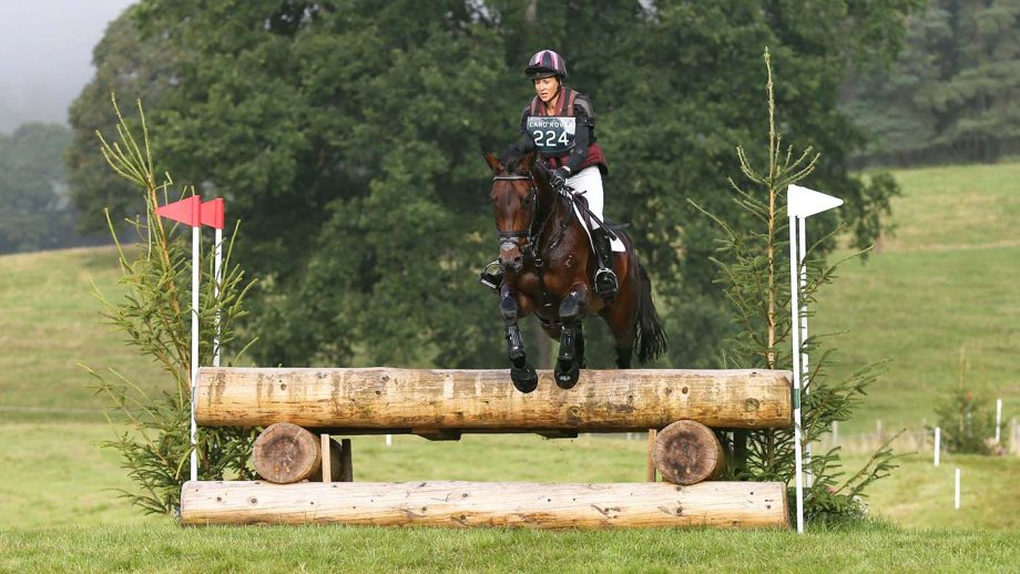 Sarah Bullimore and Evita AP on their way to winning the CCI-L 2* at Blair Castle Horse Trials