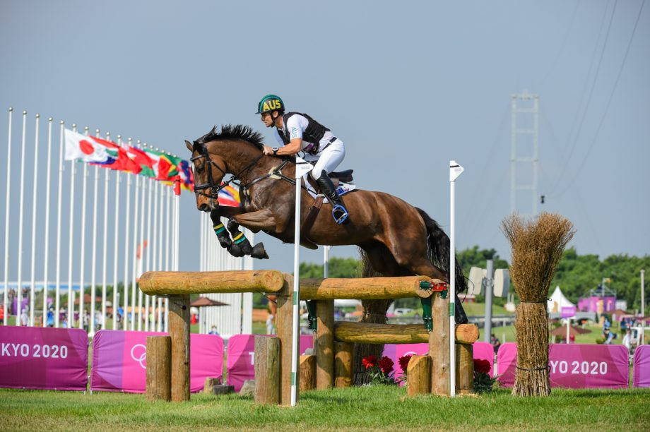 Olympic eventing cross-country