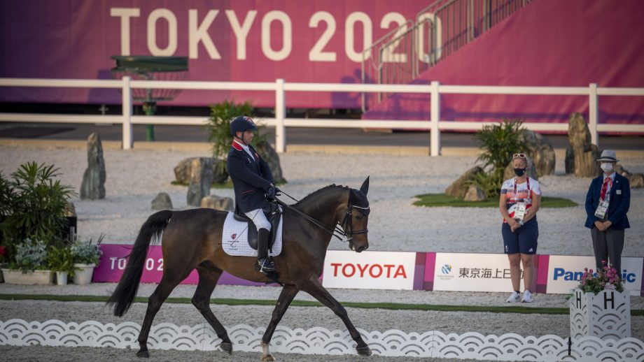Tokyo Paralympic dressage team competition