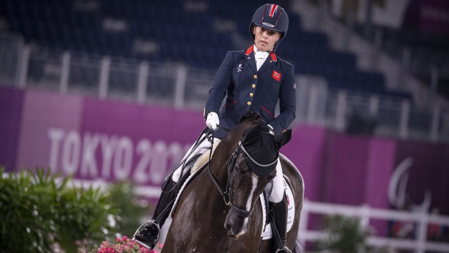 Tokyo Paralympics dressage: Sophie Wells and Don Cara M on their way to winning a medal