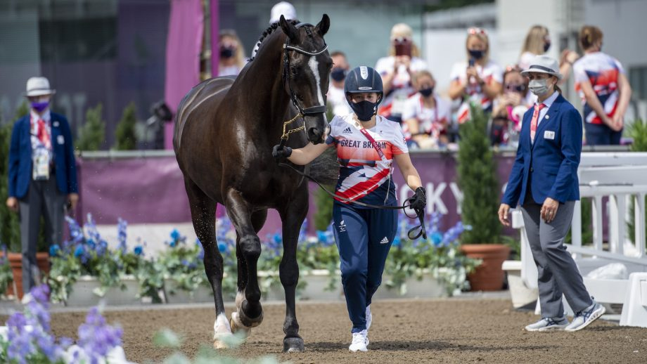 Tokyo Paralympics British groom Jade Lockwood