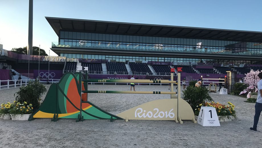 Tokyo Olympic showjumping course