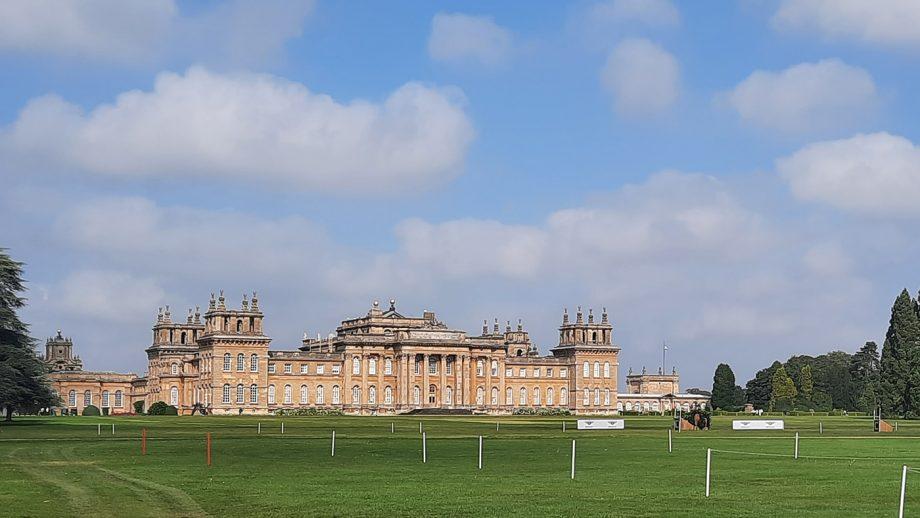 Blenheim Horse Trials trot-up Sunday