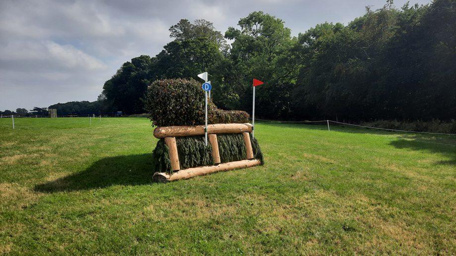 Blenheim Horse Trials cross-country course