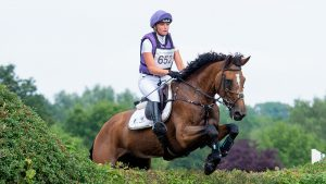 Blenheim Horse Trials dressage: Emily King and Valmy Biats have taken the lead