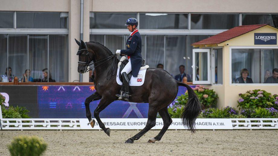 European Dressage championships Carl Hester En vogue