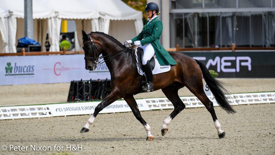 European Dressage Championships - Ireland's Carolyn Mellor and Gouverneur M